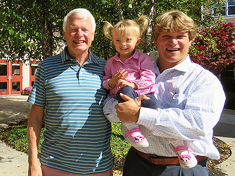 OceanView Owner, John Wasileski, with son Chris and granddaughter Haley.