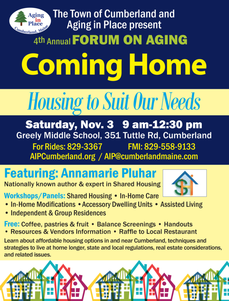 Cumberland's Aging in Place Forum on Aging