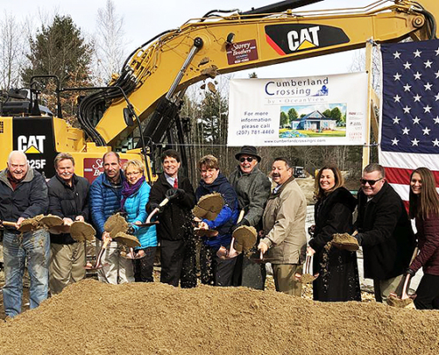 Cumberland Crossing Groundbreaking