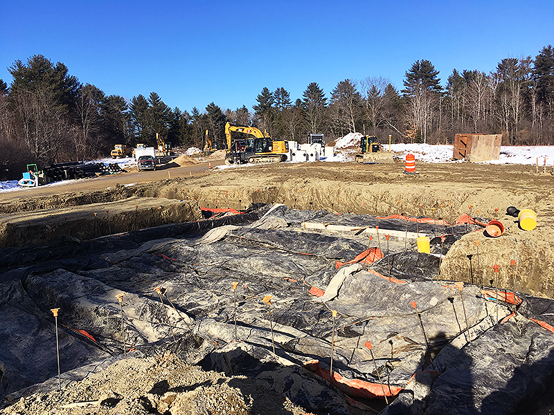 Doug Shea Foundations Placed Footings for Model Unit