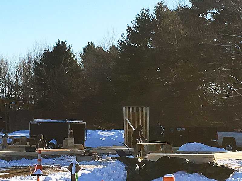 Model Cottage Construction 1-30-2019