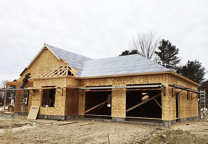 Model Cottage Sheathing 2-12-2019