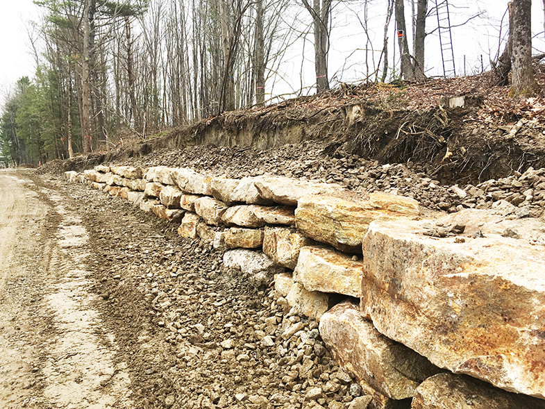 Little Acres Drive Stone Wall