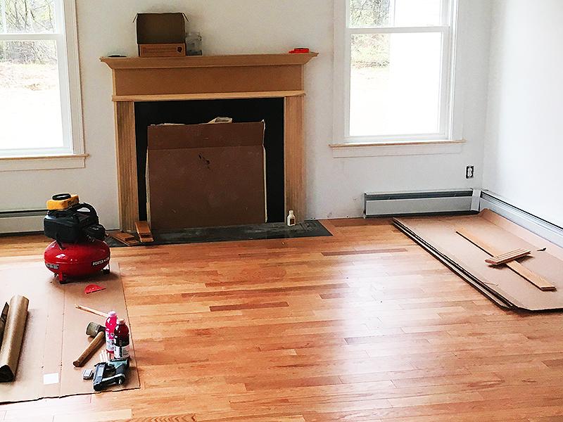Model Hardwood Flooring Install 5-14-2019