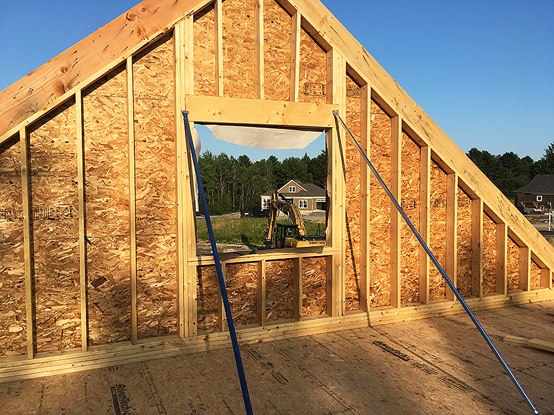 56 Little Acres Drive Loft Framing