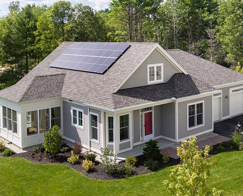 Model Cottage | Retirement Cottage House Plans