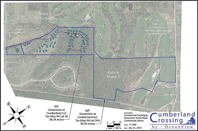 Cumberland Crossing Site Plan