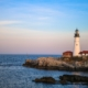 Portland Head Light | Late Summer in Maine