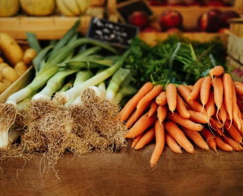 what vegetables are in season in maine